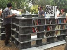 """Turkish Publishing Houses Give Big to Gezi Park Library - """"One of the major acts of resistance for protesters occupying Taksim Gezi Park has been to pick up a good book and read it – preferably in front of a police officer…Sel Publishing House on June 4 called on other publishing houses to step up the organization of the book aid by creating a makeshift library in the park, asking all publishers to send books and support the movement with some good literature."""""""