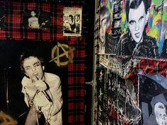 #ChunkofPunk #PunkLondon #Menace #EarlOfBedlam #BarbicanMusicLibrary #FreeExhibition #londonlibraries #Rockarchive