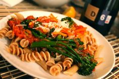 How Much Protein is in Pasta? ~ La Pomme Verte