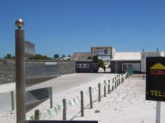 Entrance to Robben Island, Cape Town, South Africa