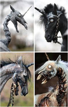 Four Horsemen of the Apocalypse Unicorns SET polymer by scenceable