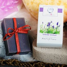 Lavender Orchard Jewelry Soaps | Jewelry Candles - Jewelry In Candles  Our Lavender Seashore Jewelry Soap will take you on a journey to a blooming lavender field on the shores of the Mediterranean Sea every time you use this relaxing and refreshing scent!