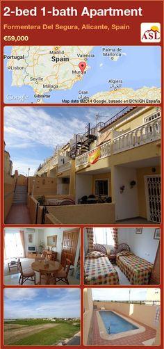 2-bed 1-bath Apartment in Formentera Del Segura, Alicante, Spain ►€59,000 #PropertyForSaleInSpain