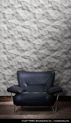 Crush InterlockingRock® Panel By Modular Arts   Texture