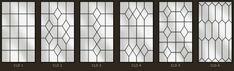 Simple lead and border patterns Window Grill Design, Door Design, House Design, Leaded Glass, Stained Glass, Burglar Bars, Leadlight Windows, Window Grids, Lead Windows