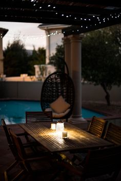 Whether concrete, stone or brick this area is your ultimate social hotspot especially when there's a grill or fire pit surrounded with your friends & family Concrete, Brick, Fire, Patio, Interior Design, Inspiration, Decor, Design Interiors, Decoration