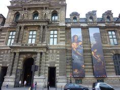 Sainte Anne exhibition at the Musee du Louvre, Paris