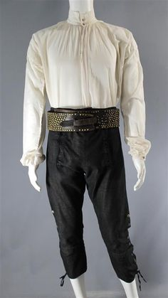 CAPTAIN FLINT TOBY STEPHENS SCREEN WORN PIRATE COSTUME SS 1