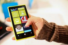 Nokia Lumia 920 with Windows Phone 8