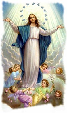 Today Is The Feast Of The Immaculate Conception Of The Blessed Virgin . Old Catholic Church, Catholic Art, Catholic Pictures, Jesus Pictures, Blessed Mother Mary, Blessed Virgin Mary, Religious Images, Religious Art, Madonna