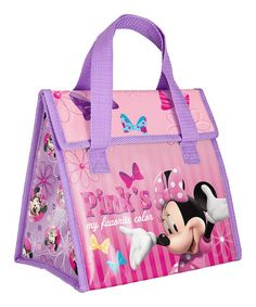 Minnie Mouse Lunch Tote by Minnie Mouse #zulily #zulilyfinds