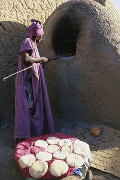 Tacoula bread oven, Timbuktu, Mali