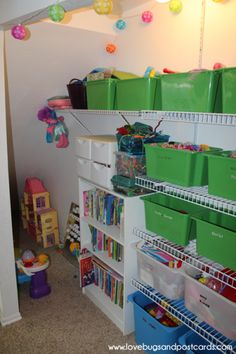How to organize a room - Kids Play Room