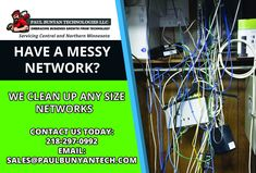 Having a clean and organized network is key to having a high-performance and functional network.  Lowers troubleshooting Time and Costs Easier for Hardware improvements  Contact us today to see how we can clean up our network.