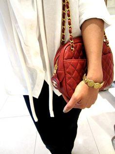 Vintage Chanel Bracelet & Chain Bag
