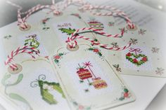 Hey, I found this really awesome Etsy listing at https://www.etsy.com/listing/170905551/set-of-six-christmasyule-gift-tags-cross