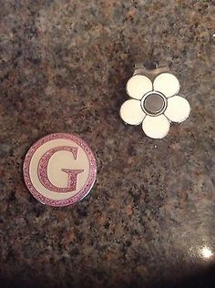 Daily sport golf 'g' #magnetic hat clip / ball #marker set #*new*,  View more on the LINK: http://www.zeppy.io/product/gb/2/161967456937/