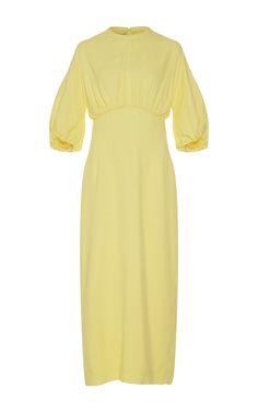 Ligia Pencil Dress by EMILIA WICKSTEAD Now Available on Moda Operandi
