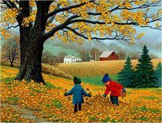 herfst bladeren...