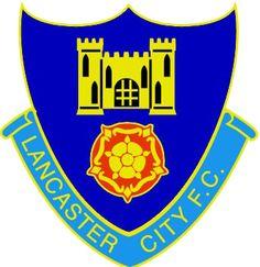Lancaster City of England crest. British Football, English Football League, Fifa, Bristol Rovers, Football Team Logos, Sports Clubs, Crests, Lancaster, Premier League