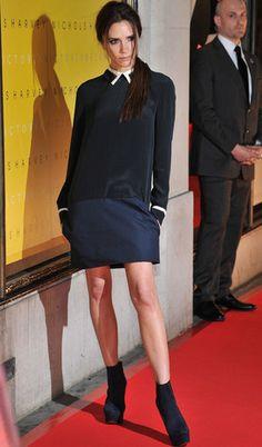 School Girl Charm: Victoria Beckham's Best Looks