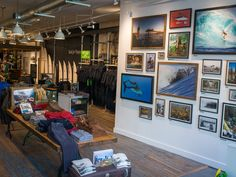 Patagonia Bowery Surf Shop, New York City. Visit City Lighting Products! https://www.facebook.com/CityLightingProducts
