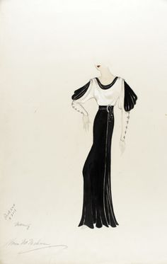 Untitled Costume Sketch | LACMA Collections