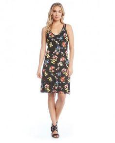 Karen Kane 1L20571 Floral Print Dress $118