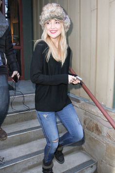 Celebs perfect the rugged-meets-apres-ski look at the Sundance Film Festival. Catch a glimpse of their laid-back looks here.