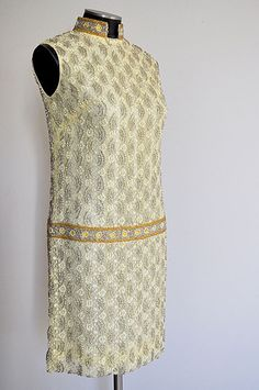 Fabulous 1960s Beaded Cocktail Dress