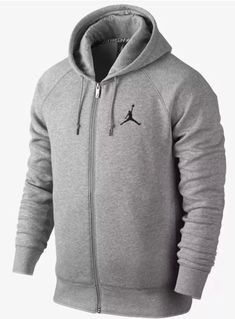 big sale 8d4a0 d01ee MEN S NIKE JORDAN JUMPMAN HOODIE JACKET FULL ZIP FLEECE 845861 063 SIZE XL  NEW  fashion