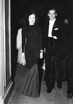 "Marlene Dietrich and Douglas Fairbanks, Jr. attending the theatre in London, 1936 ""Fairbanks was carrying on an affair with Marlene Dietrich, who used to smuggle him into her hotel room at Claridge's.""  - The Guardian"