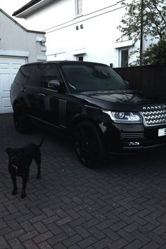 Home/Family #4 - I plan to have a black on black Land Rover Range Rover as well. And a dog to match.