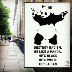 Funny pics, memes, infographics and gifs. Destroy Racism, Be like Panda Memes Humor, Humor Videos, Photo Panda, Raul Gil, Funny Animals, Cute Animals, Oui Oui, Have A Laugh, Faith In Humanity
