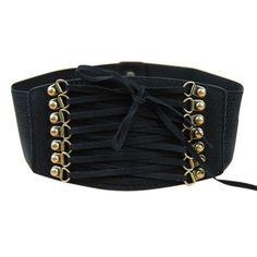 Strap Buckle Cinch Belt Corset