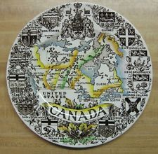 "Canada Collector's Collectible Plate 10"" Wood & Sons English Ironstone"