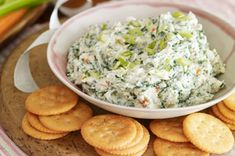 Our Classic Spinach Dip is everyone's favourite appetizer.  Served with bread, crackers or fresh veggies, this spinach dip is always the first appetizer to disappear.