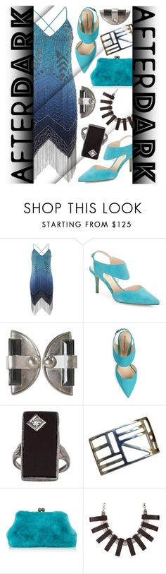 """Party Like It's 1929"" by goldenopal ❤ liked on Polyvore featuring Haute Hippie, Nicholas Kirkwood, Blood & Honey and vintage"