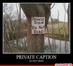 private description-- do not read