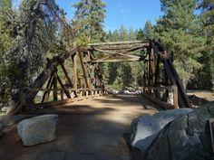 Dinkey Creek Bridge - Dinkey Creek Campground, Shaver Lake CA