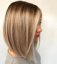 Hairstyles For Work Long bob haircut, blonde hair color, dirty blonde color, stylish hair, hairstyle… Medium Length Hairstyles, Popular Short Hairstyles, Trendy Hairstyles, Popular Haircuts, Braided Hairstyles, Haircuts For Fine Hair, Long Bob Haircuts, Hairstyles Haircuts, Fine Hair Cuts