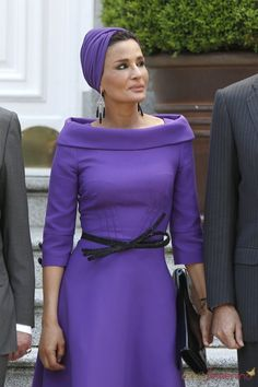 Sheikha Mozah bint Nasser Al Missned, born August 8, 1959 in Al Khor) is the second of the three wives of Sheikh Hamad bin Khalifa Al Thani, Emir of the State of Qatar.