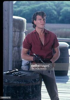 Patrick Swayze Pictures and Photos The Outsiders Darry, Patrick Swazey, Parker Stevenson, Patrick Wayne, The Love Club, Cute Actors, Dirty Dancing, Hot Hunks, Celebrity Crush