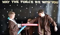Star Wars Birthday Party for Kids (Part One) - This party looks like so much fun!
