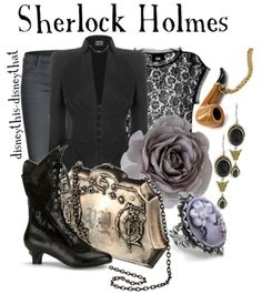 Disney inspired clothing by disneythis-disneythat. (yes I know this isn't actually Disney). Sherlock Holmes.