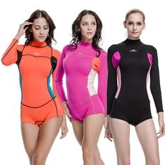 27.00$  Buy here - http://ali6ux.shopchina.info/go.php?t=32736531712 - SBART New Style Neoprene Wetsuit Women 2MM Surfing Wetsuits One Piece Swimming Snorkeling Diving Wet Suit Long Sleeve 2015 P812 27.00$ #magazineonlinebeautiful