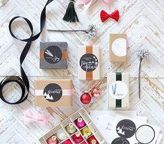 thurstonpost: pti :: good tidings packaging kit :: lovely labels