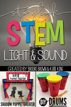 Storybook STEM: Light and Sound provides early childhood teachers with weekly all-in-one units to cover essential skills in comprehension, vocabulary, grammar, science, nonfiction research and engineering. ⇒Windows by Julia Denos ⇒Drum Dream Girl by Margarita Engle Includes a comprehension bookmark, ELA lessons, vocabulary activities, Science Spark, nonfiction research, and simple STEM Challenge | First Grade, Second Grade, Third Grade