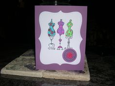 I Like Your Style Birthday card...Stampin Up products
