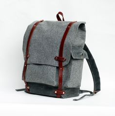 The Wayfarer Backpack in Limited Edition Wool Print ($285.00) - Svpply